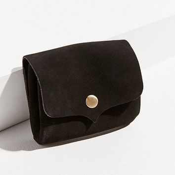 Suede Snap Belt Pouch | Urban Outfitters