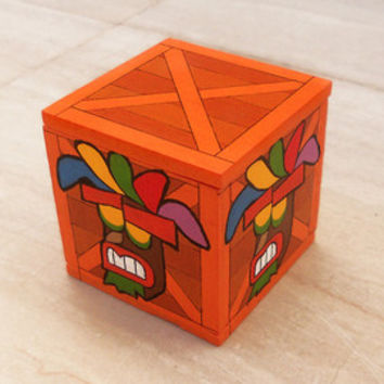 Made to order - Mask crate wood box