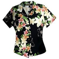 pebble hawaiian lady blouse
