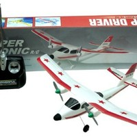 Super Sonic Remote Control RC AirPlane Ready To Fly RTF Toy