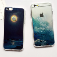 Night Case Cover for iPhone 6 6s Plus Gift 229