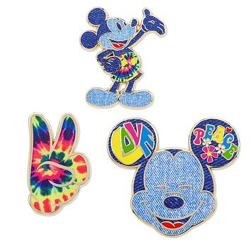 Disney Store Mickey Memories June Pin Set of 3 Limited Release New with Card