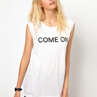 Just Female Come On Tank Vest