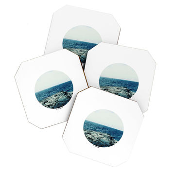 Leah Flores Ocean Blue Coaster Set