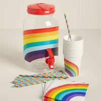 Chase the Rainbow Beverage Dispenser Set