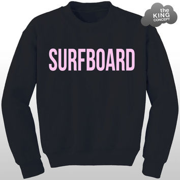 Surfboard Sweatshirt Jumper Sweater Yonce Drunk in Love Tour Watermelon Angel Pullover
