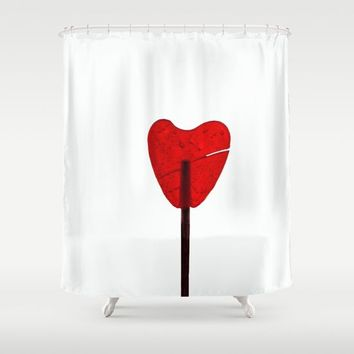 Sweet heart Shower Curtain by anabprego