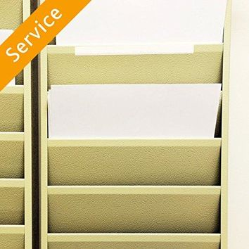 Wall File Holder Hanging - Up to 3 File Holders