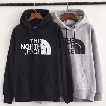 DCCKI2G The North Face Fashion Hooded Long Sleeve Top Sweater Pullover Hoodie Sweatshirt