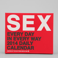 Urban Outfitters - Position Of The Day 2014 Daily Calendar