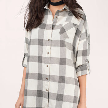Kent Checkered Button Down Shirt