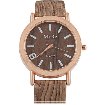 New Design Female  wooden Wristwatch