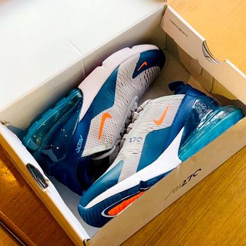 NIKE AIR MAX 270 Tide brand mesh breathable casual shoes