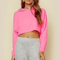 LONG SLEEVE NEON CROP