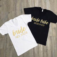 Bride Tribe V-Neck Shirt