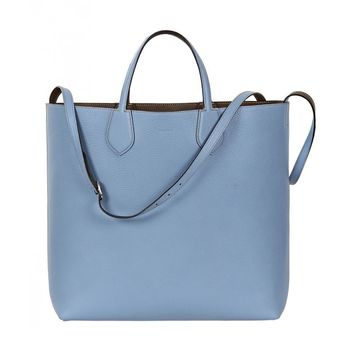 Gucci Women's Baby Blue Reversible Ramble 370823