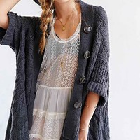 ASH RAIN + OAK Cable-Knit Cardigan-