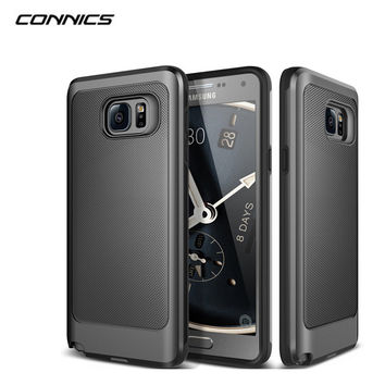 Rugged Rubber Dual Layer Shockproof Hard Case For Samsung Galaxy S6 S7 edge plus Note3/4/5/7 J5 J7 Grand Prime G530 Capa Case