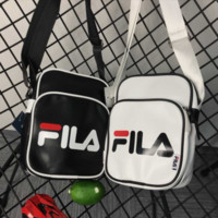 Adidas & FILA New fashion letter print couple small leisure shoulder bag two color