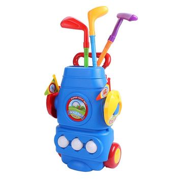 Golf Toy Set With Three Balls Sports Colourful Developmental Toys Perfect Outdoor Play Golfer