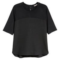 H&M+ Short-sleeved Blouse - from H&M