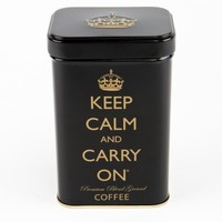 Keep Calm And Carry On Tea & Coffee Tin Gift Set from Focused Distribution | Made By Keep Calm And Carry On Beverag | £14.99 | Bouf