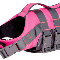 Helios Splash-Explore Outer Performance 3M Reflective and Adjustable Buoyant Dog Harness and Life Jacket (HA3PK~SM)