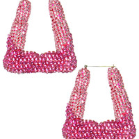 BLING BAMBOO EARRINGS