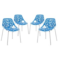 Stencil Dining Side Chair Set of 4