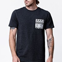 On The Byas - Star Wars Jacquard Contrast T-Shirt - Mens Tee - Black