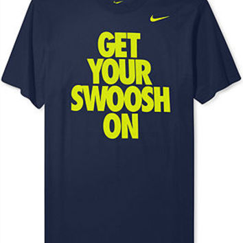 Nike Shirt, Get Your Swoosh on T Shirt - T-Shirts - Men - Macy's