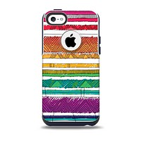 The Crayon Colored Doodle Patterns Skin for the iPhone 5c OtterBox Commuter Case
