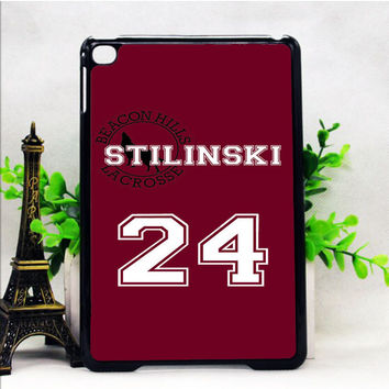 TEEN WOLF INSPIRED STILES STILINSKI JERSEY IPAD MINI 1 | 2 | 4 CASES