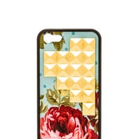 Wildflower Blue Floral Iphone 5/5S Case in Baby Blue