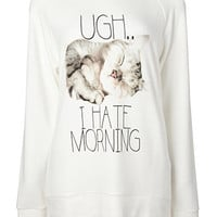 Ugh I Hate Mornings PJ Top