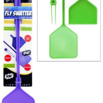 Three-In-One Fly Swatter Case Pack 24