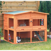 TRIXIE's Rabbit Hutch with Attic - Small Pet - Boutique - PetSmart