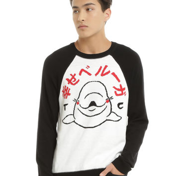 Tyler Carter Happy Beluga Sweater