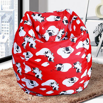 Adult Removable Washable Lazy Bean Bag Computer Chair Living Room Leisure Bean Bag Seat