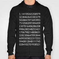 pi black - never ending story Hoody by Steffi Louis-findsFUNDSTUECKE