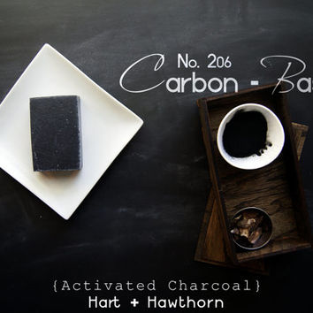 No. 206 Carbon-Based: Natural Activated Charcoal Soap