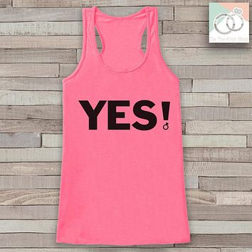 Bridesmaid Tank - That's What She Said Tank Top - Wedding Shirt - Pink Tank Top - Bachelorette Party Top - Bridal Party Outfits