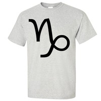 Capricorn Astrology Symbol Asst Colors T-shirt/tee