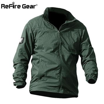 Waterproof Quick Dry Tactical Skin Jacket Men UPF 50+ Breathable Hooded Raincoat Windbreaker Thin Army Military Jackets