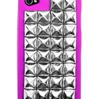 Silver Studded Pink iPhone Case | GYPSY WARRIOR