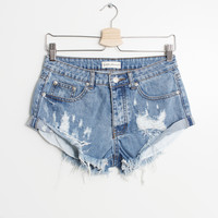 Sonya Denim Shorts