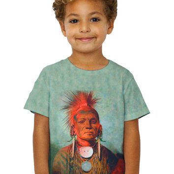 "Kids Native American Art - ""See Non Ty A An Iowa Medicine Man"" (1844)"