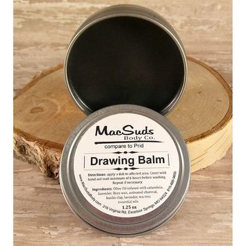 Activated Charcoal Drawing Balm