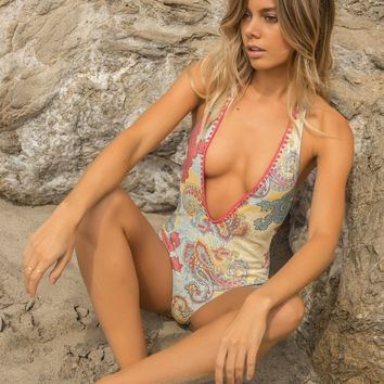Capittana Guadalupe | Reversible Designer One Piece