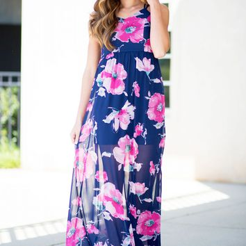 Nothing But Flowers Maxi Dress | Monday Dress